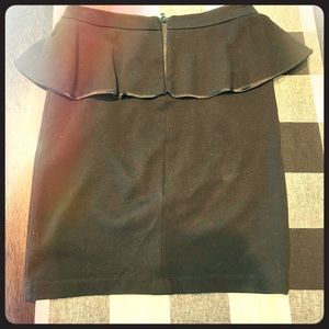 Alice + Olivia Peplum Miniskirt!
